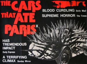 SOFT RIOT Film Klub | The Cars That Ate Paris (Peter Weir, 1975) - Film Poster