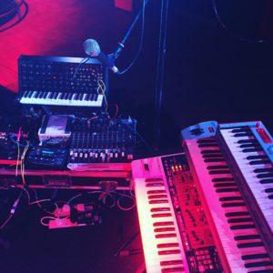 Soundcheck in Barcelona