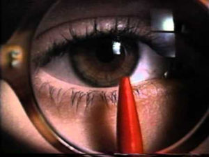 Afraid Of The Dark   eye