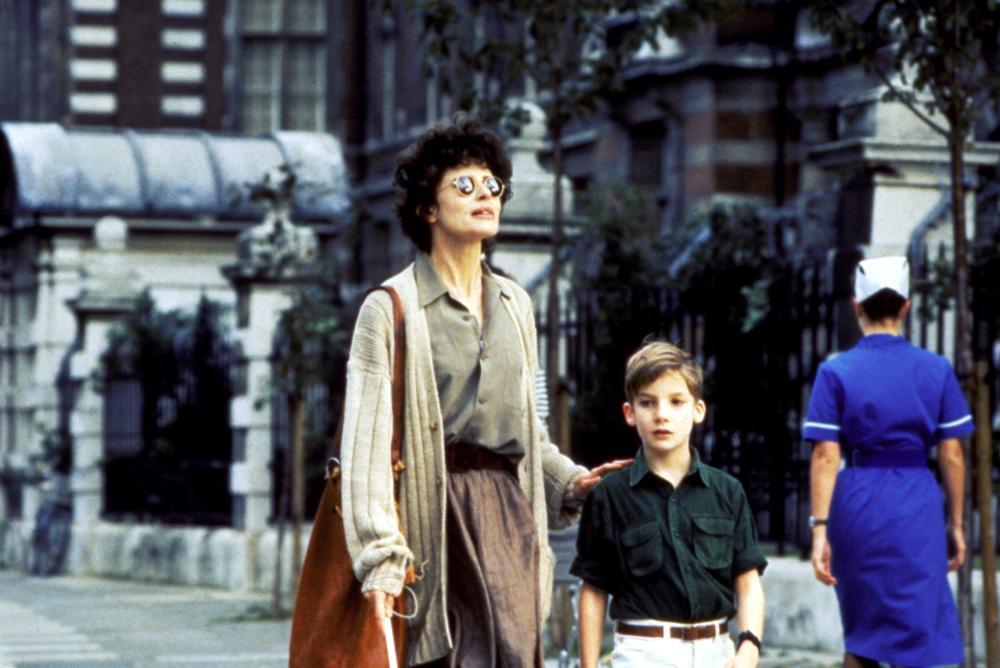 AFRAID OF THE DARK, Fanny Ardant, Ben Keyworth, 1991