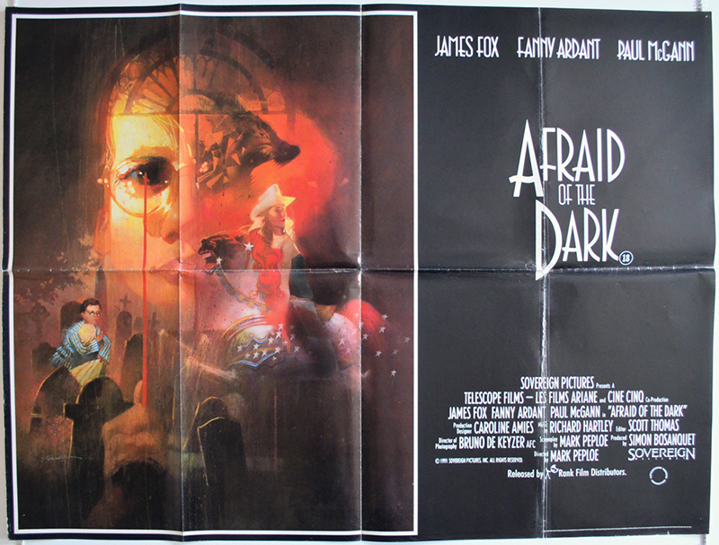 Afraid Of The Dark (poster)